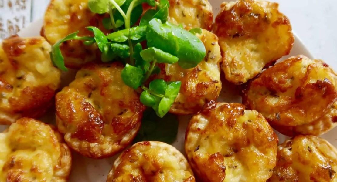 easy cheese puff tarts