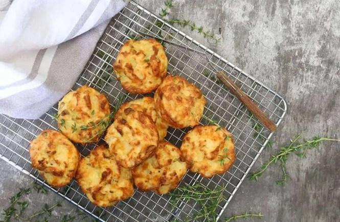 Mashed Potato Cheese Puffs