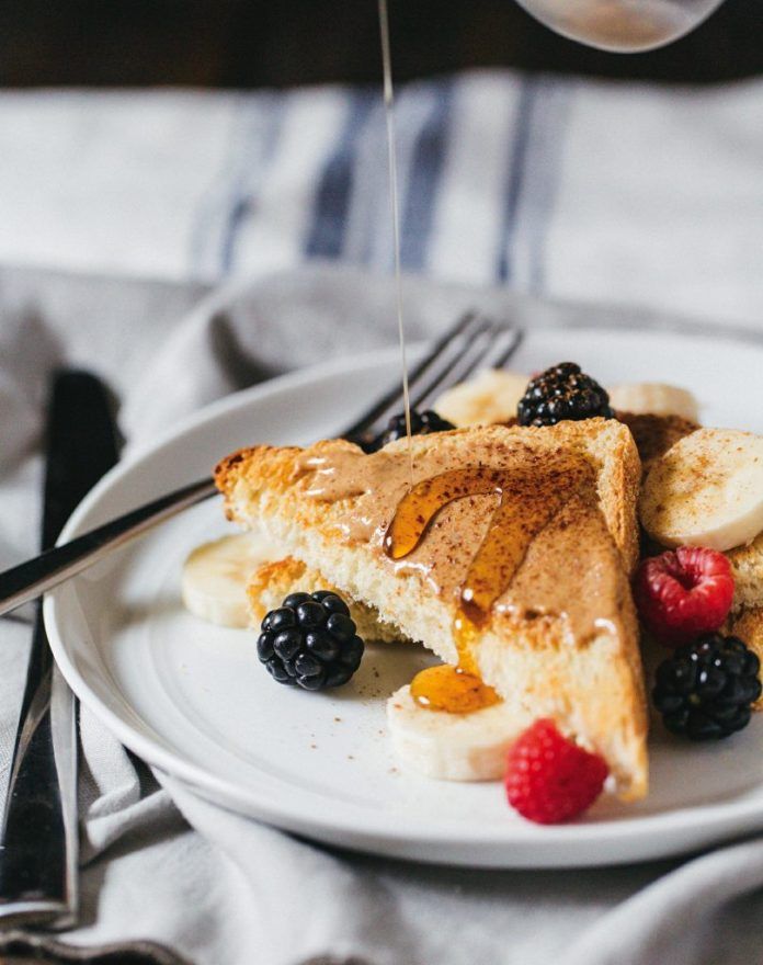 California Toast with Roasted Almond Butter & Berries