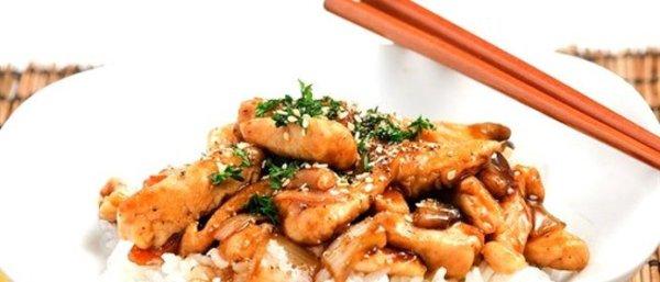 Пошаговый Рецепт жареной курицы с устричным соусом и ...