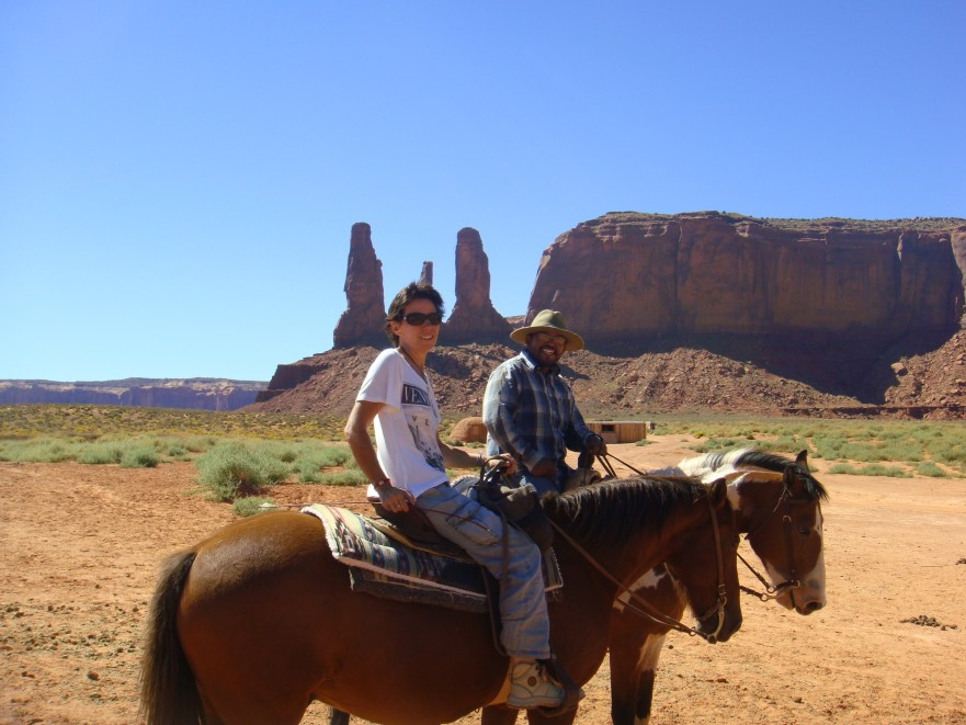 Balade à cheval Monument Valley