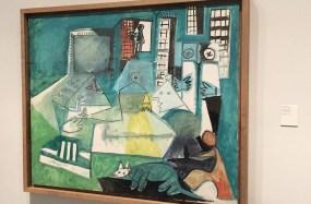 Tableau coloré au musée Picasso, Barcelone