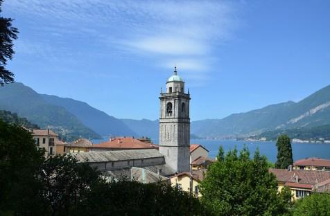 Vue sur Bellagio et le Lac de Côme, Italie