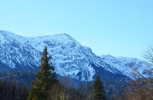 Montagnes enneigées de Bavière, Munich