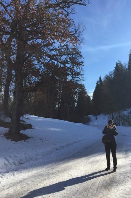 Château de Linderhof sous la neige, Bavière