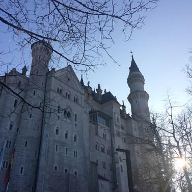Le magnifique château de Neuschwanstein, Bavière