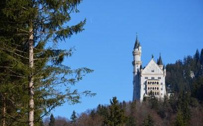 Magnifique vue sur le Château de Neuschwanstein en Bavière près de Munich
