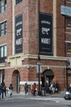 Façade du Chelsea Market de New York
