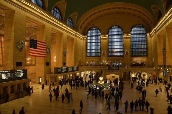 Hall de la gare de Grand Central Terminal, New York