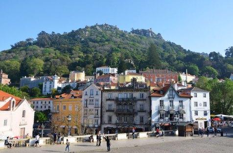 Façades de Sintra, Portugal