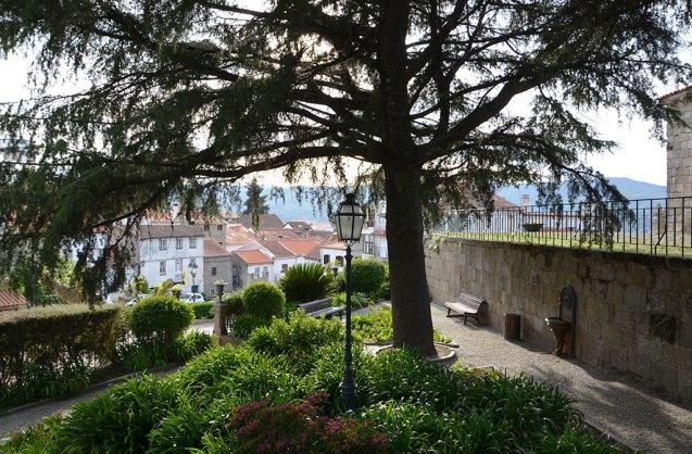 Place de village de Belmonte, Portugal