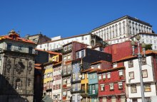 Façades colorées de Porto