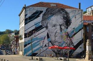 Mur street art, Porto