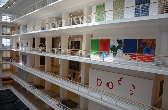 Architecture de la galerie nationale d'art moderne de Prague