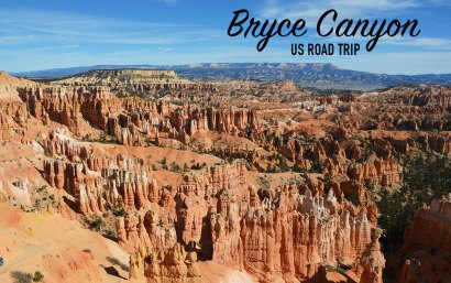 Vue sur le Bryce Canyon, US road trip