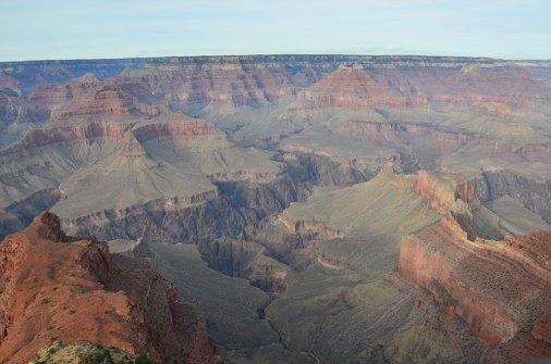Paysage de la faille du Grand Canyon, USA
