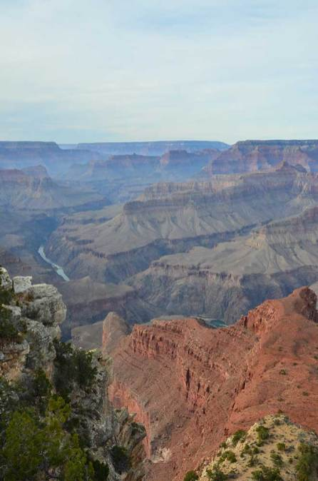 Vue sur le Grand Canyon depuis le Mohave Point