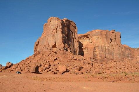 Paysage d'immensité de Monument Valley, USA
