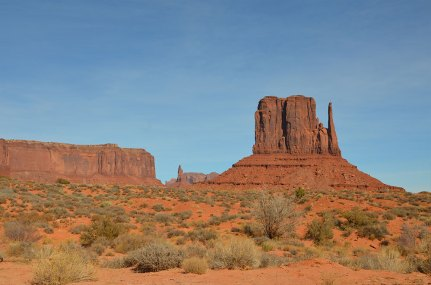 Paysage de Western, Monument Valley, USA