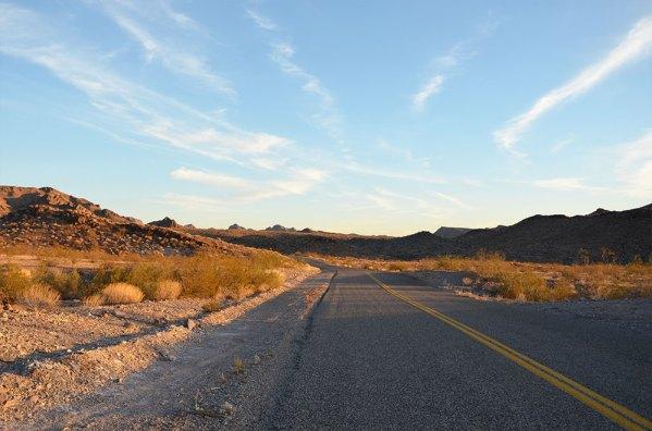 Paysage de la Route 66