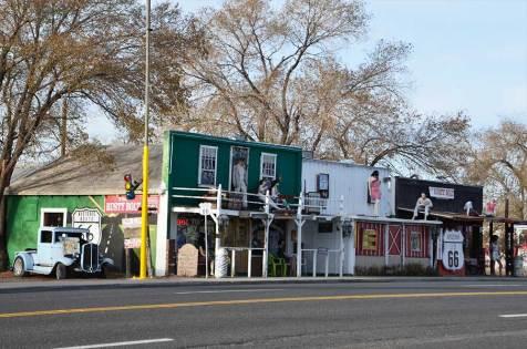 Façades de Seligman, Route 66, USA