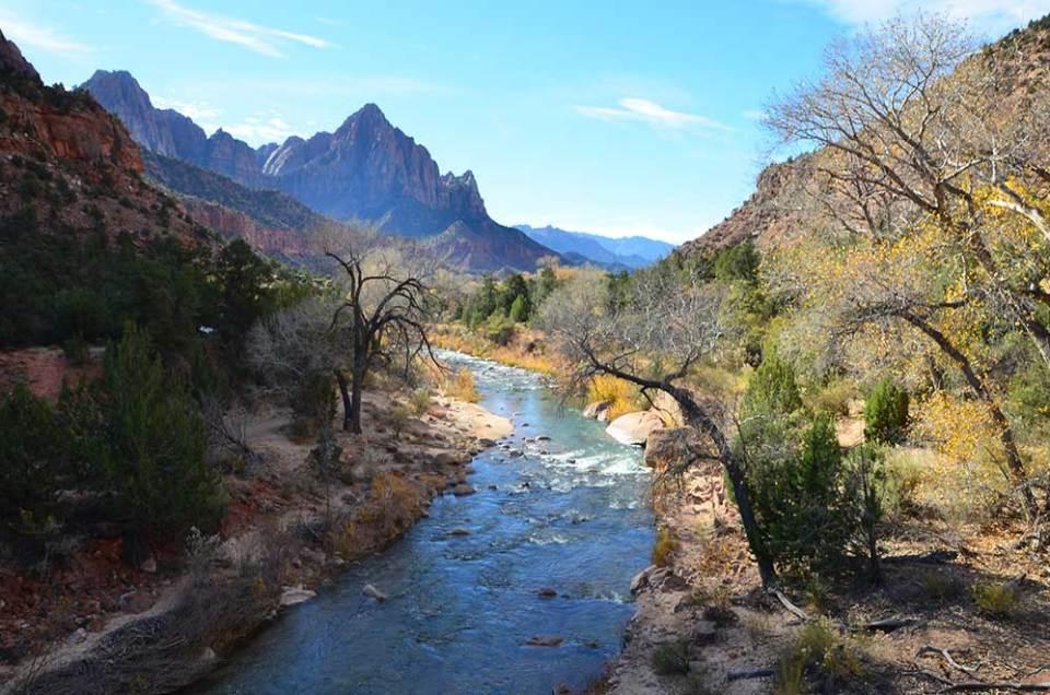 Rivière du Zion National Park, USA