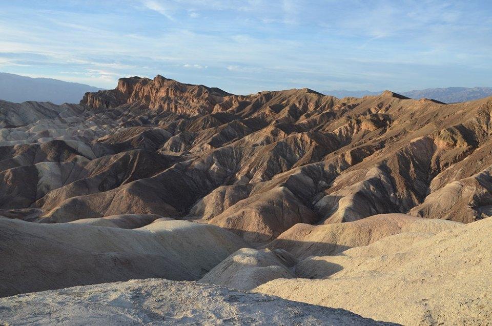 Vue sur Zabriskie Point, Death Valley
