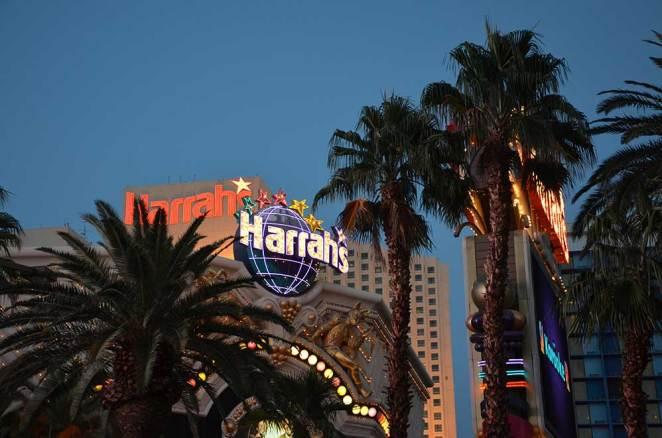 Vue sur les buildings de Las Vegas