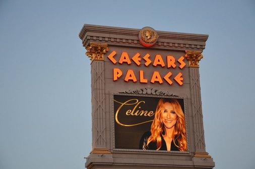 Affiche du show de Céline Dion au Caesars Palace, Las Vegas