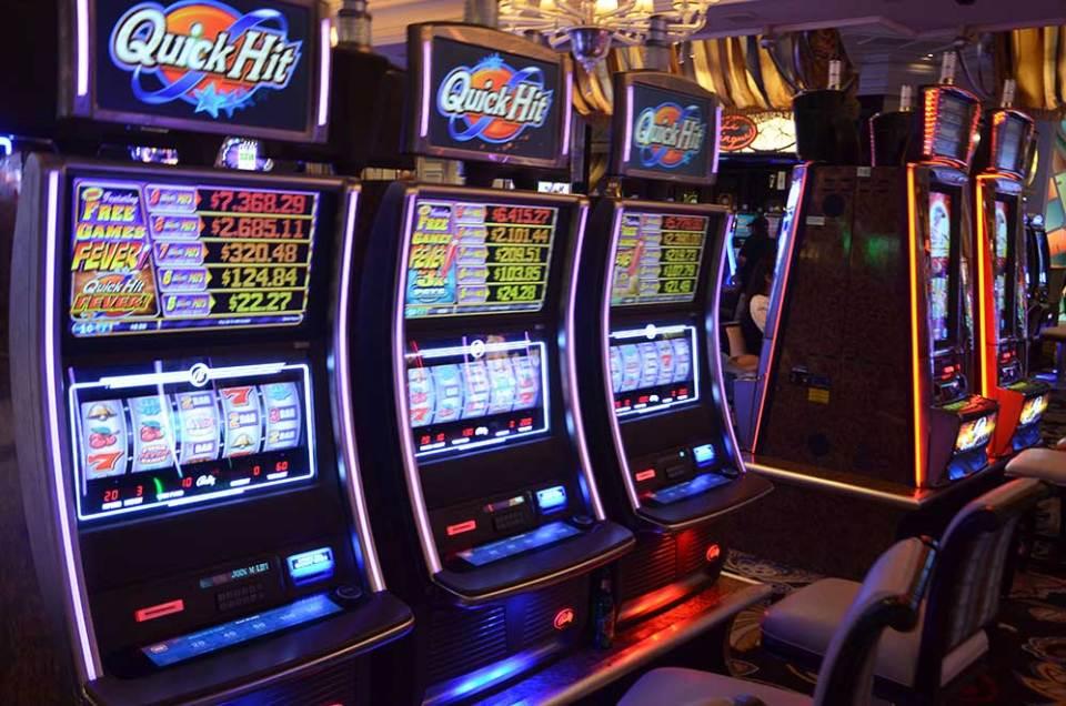 Machines à sous des casinos de Las Vegas