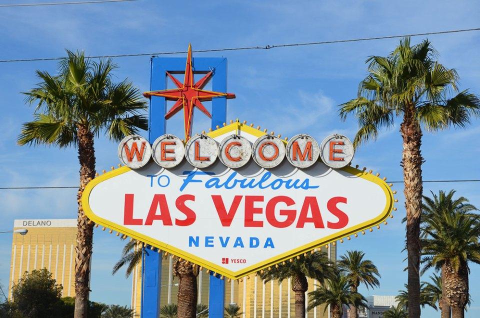 "Panneau ""Welcome to Fabulous Las Vegas, Nevada"""