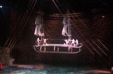 """Spectacle du cirque du soleil The """"O"""", Las Vegas"""