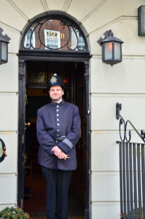 Façade de la maison de Sherlock Holmes, Baker Street, Londres
