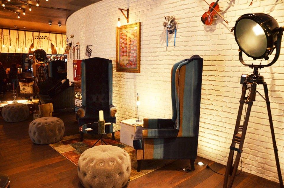 Intérieur très design de l'hôtel Ibis Style Southwark, Londres