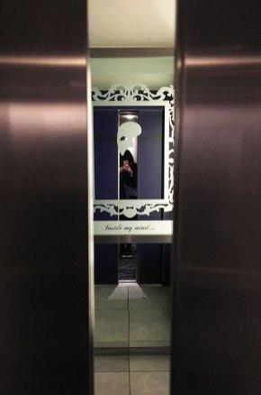 Ascenseur de l'hôtel Ibis Style Southwark, Londres