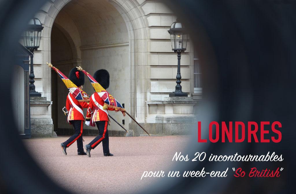 Un week-end à Londres, nos incontournables à visiter.