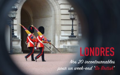 Un week-end à Londres, nos incontournables à visiter.