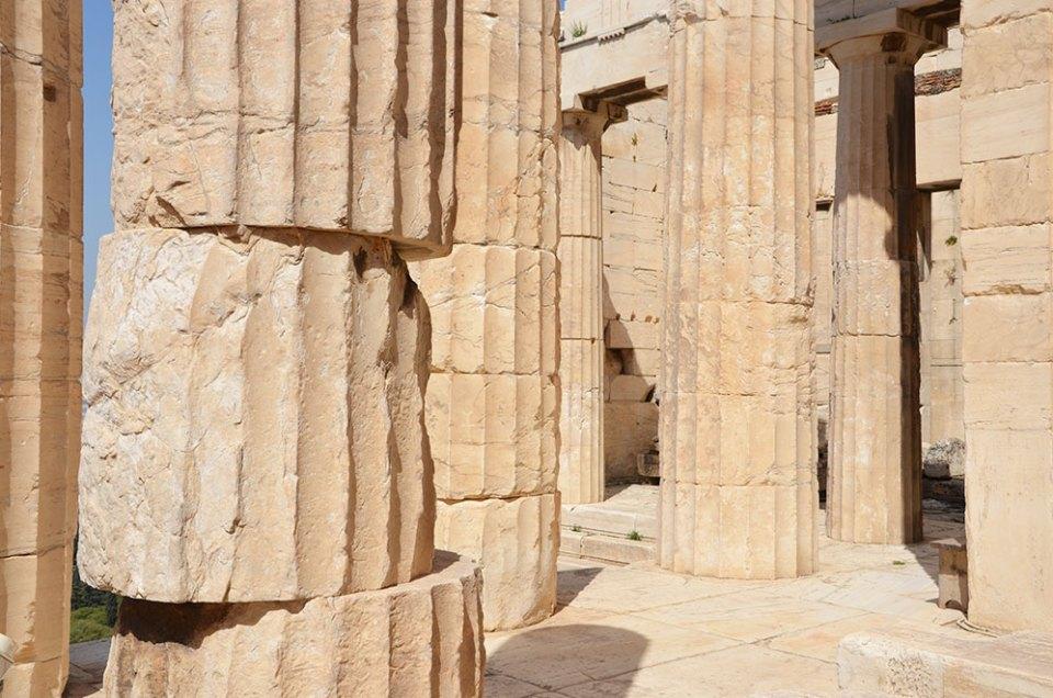 Propylées, Acropole, Athènes, Grèce