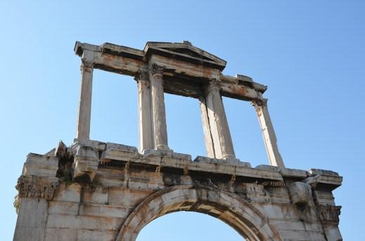 Porte d'Hadrien, Athènes, Grèce