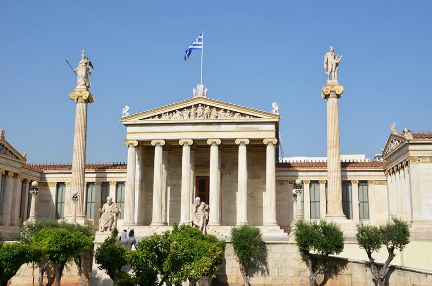 Monument historique, Athènes, Grèce