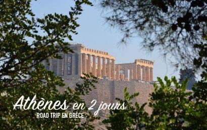 Vue sur le Parthénon, Athènes, Grèce