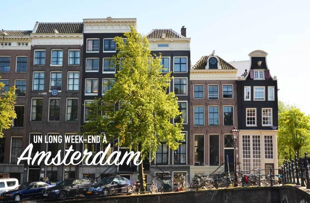 4 jours à Amsterdam
