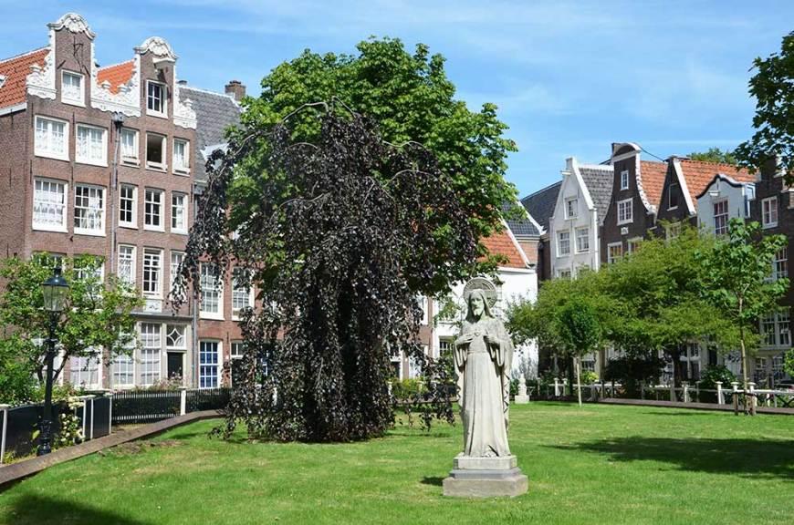 Cour intérieure du Béguinage, Amsterdam