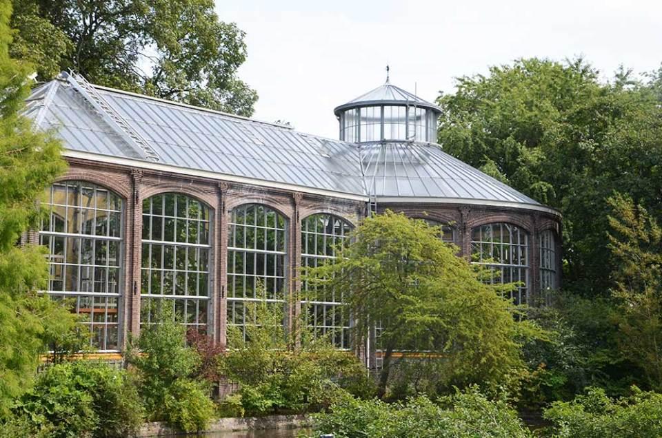 Serre du jardin botanique d'Amsterdam