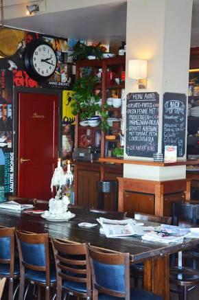 Intérieur du restaurant Orloff, Amsterdam