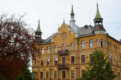 Belles maison du quartier chic de Bydgoy Allé, Oslo