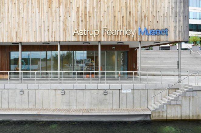Entrée du musée Astrup Fearnley, Oslo