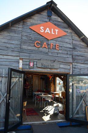 Entrée du Salt café, Olso