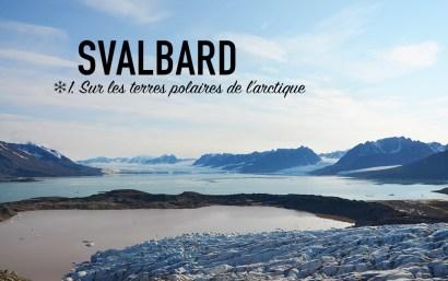 Svalbard, sur les terres polaires de l'arctique
