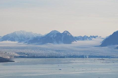 Glacier de la Baie de Monacobreen, Svalbard